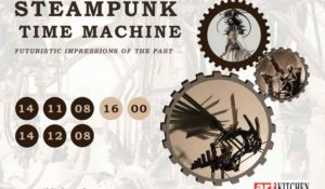 Exposition Steampunk – Art Kitchen Gallery – 14 nov / 14 dec 2008 – Amsterdam / Pays-Bas